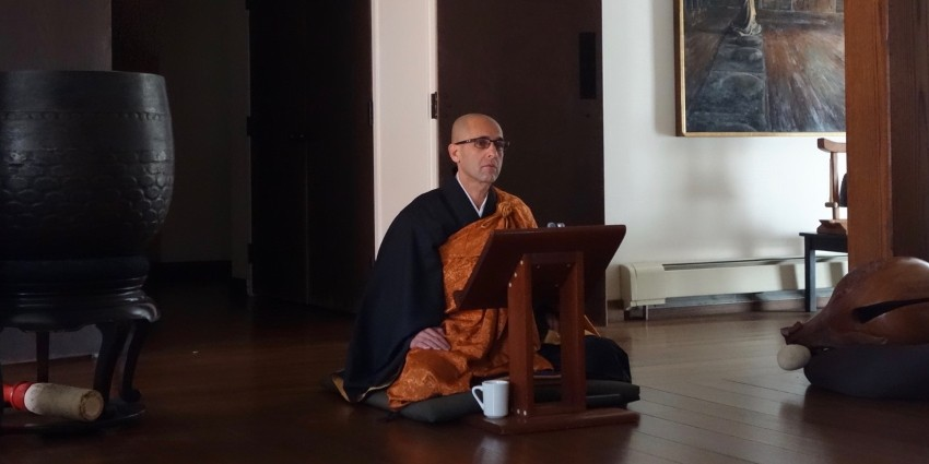 Rev. Eran Junryu Vardi is an ordained Zen priest, a Dharma successor of Roshi Paul Genki Kahn, and an empowered Zen teacher